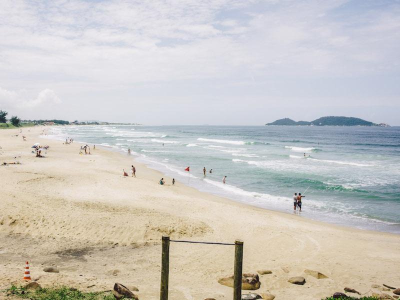 Strand von Armação in Florianopolis