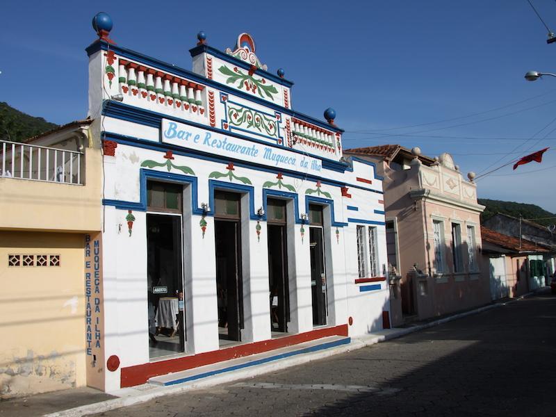 Antikes Haus in Riberão da Ilha