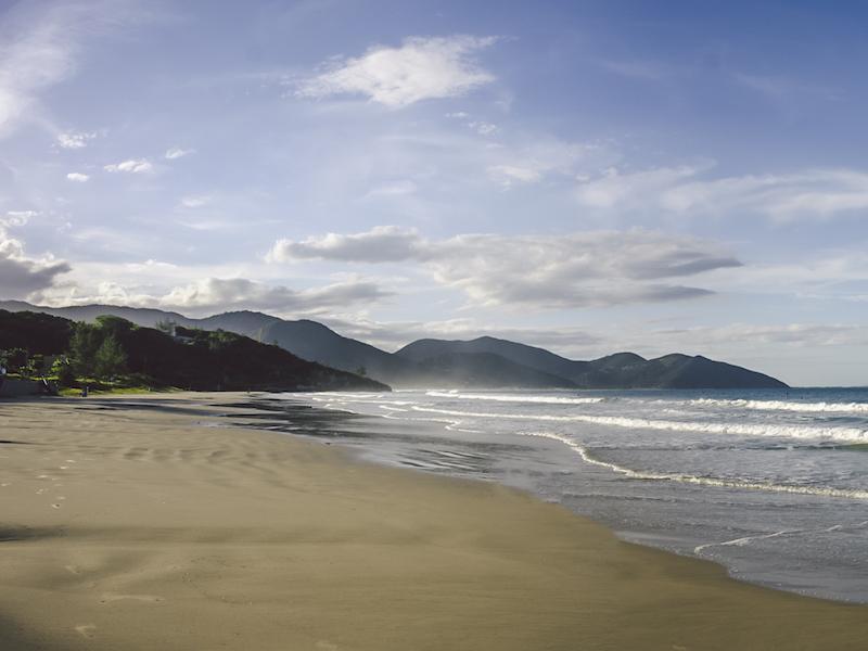 Strand im Süden von Florianopolis