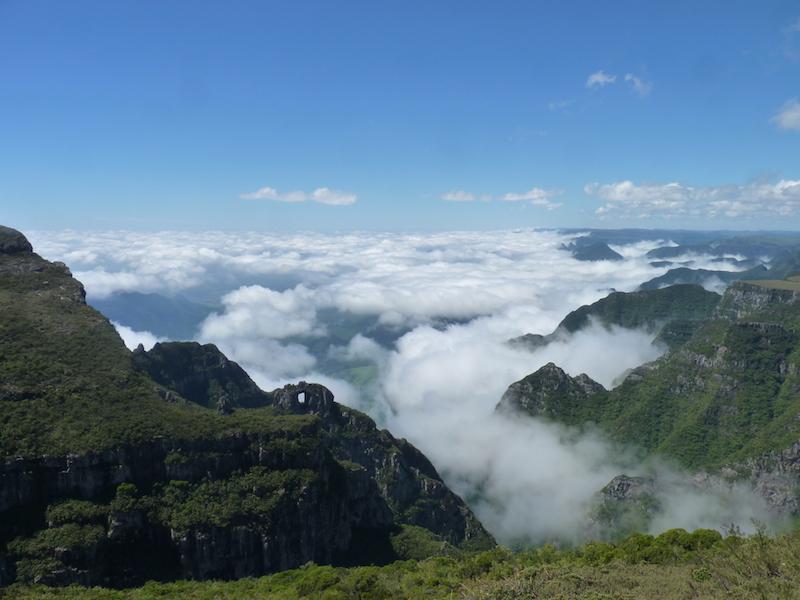 Berglandschaft in Urubici